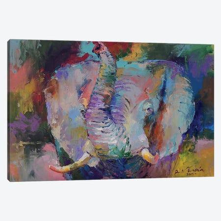 Elephant II Canvas Print #RWA45} by Richard Wallich Canvas Print