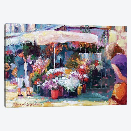 Flowers Canvas Print #RWA52} by Richard Wallich Canvas Print