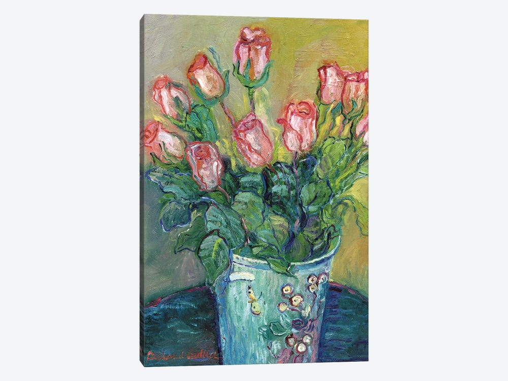 Flowers In A Vase 1-piece Canvas Wall Art