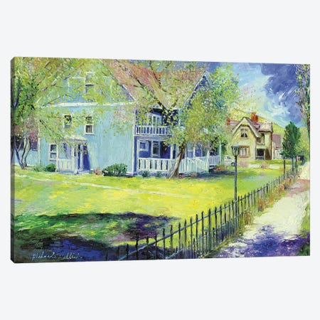 Georgetown Canvas Print #RWA64} by Richard Wallich Canvas Print