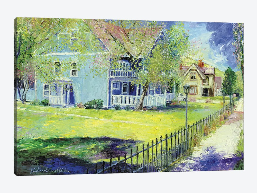 Georgetown by Richard Wallich 1-piece Canvas Artwork