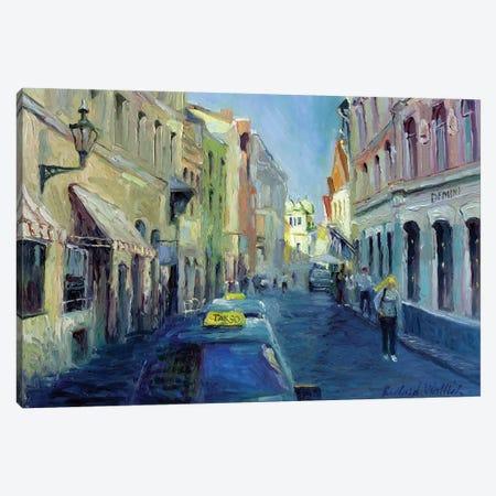 Girl With Yellow Hair Canvas Print #RWA66} by Richard Wallich Canvas Art Print