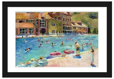 Glenwood Springs Framed Art Print