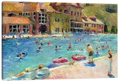 Glenwood Springs Canvas Art Print