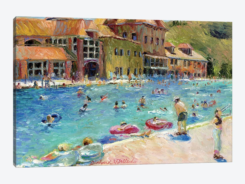 Glenwood Springs by Richard Wallich 1-piece Canvas Art Print