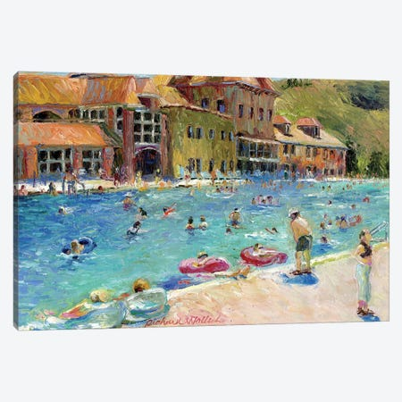 Glenwood Springs Canvas Print #RWA67} by Richard Wallich Canvas Print