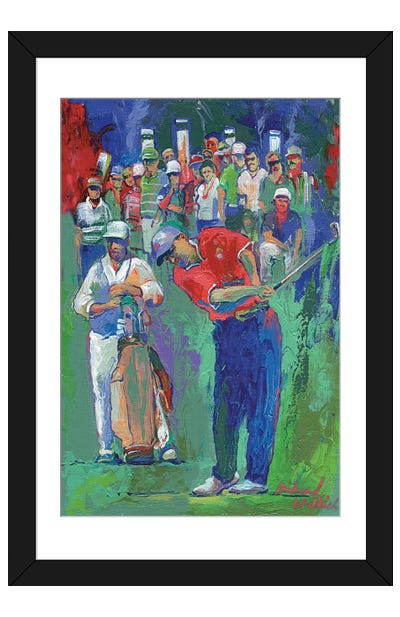 Golf Framed Art Print