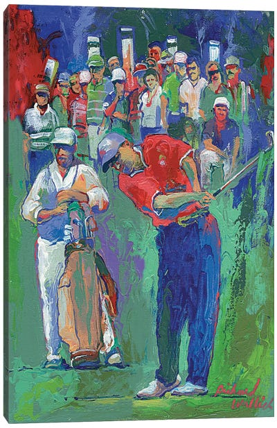 Golf by Richard Wallich Art Print