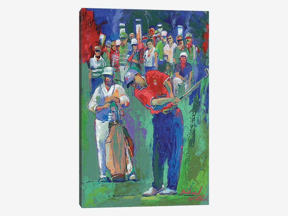 Golf by Richard Wallich 1-piece Canvas Wall Art
