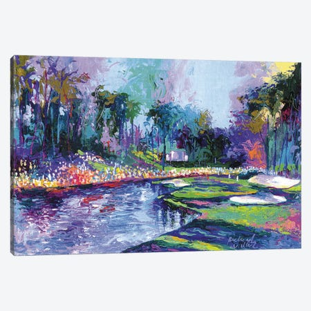 Golf Hole I Canvas Print #RWA72} by Richard Wallich Canvas Print