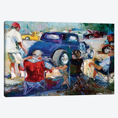 H Rods Canvas Print #RWA75} by Richard Wallich Canvas Wall Art