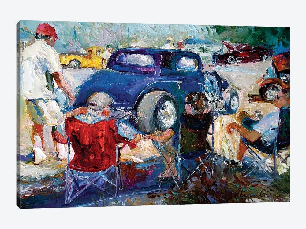 H Rods by Richard Wallich 1-piece Canvas Wall Art