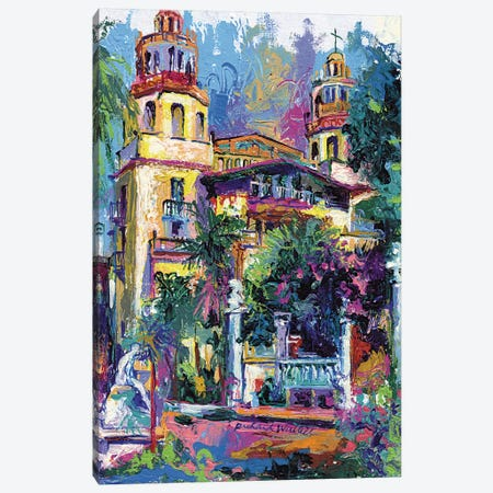 Hearst Castle Canvas Print #RWA80} by Richard Wallich Canvas Wall Art