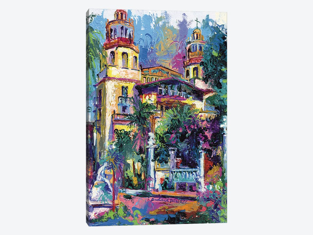 Hearst Castle by Richard Wallich 1-piece Canvas Wall Art