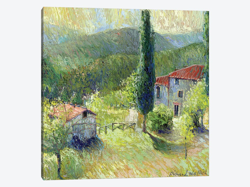 Italy I by Richard Wallich 1-piece Canvas Print