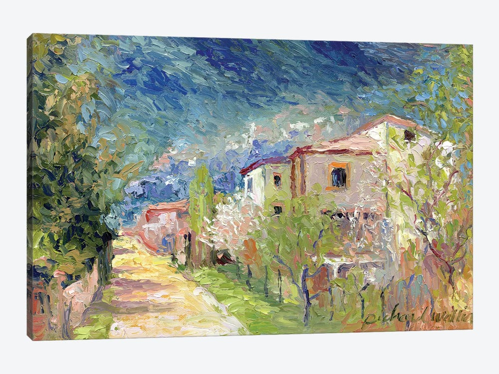 Italy II by Richard Wallich 1-piece Canvas Art