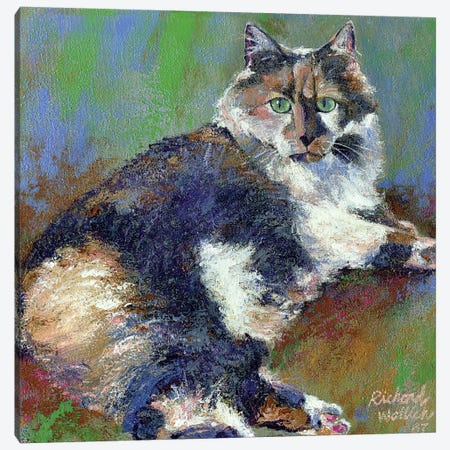 Kezia Canvas Print #RWA92} by Richard Wallich Canvas Art Print