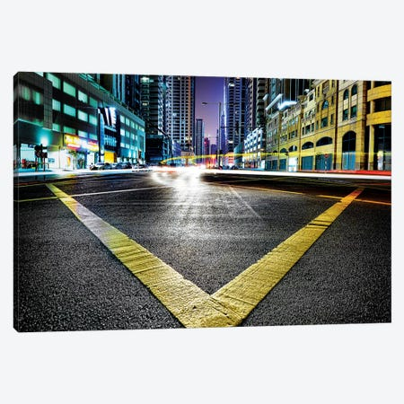 V 3-Piece Canvas #RWO1} by Robert Work Canvas Print
