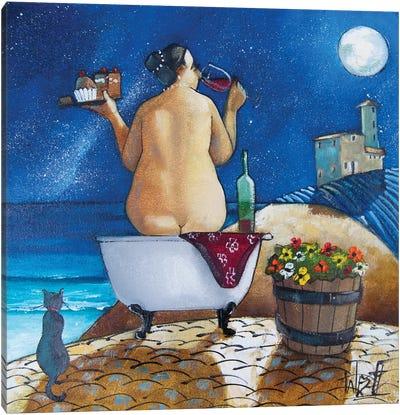 Bath I Canvas Art Print