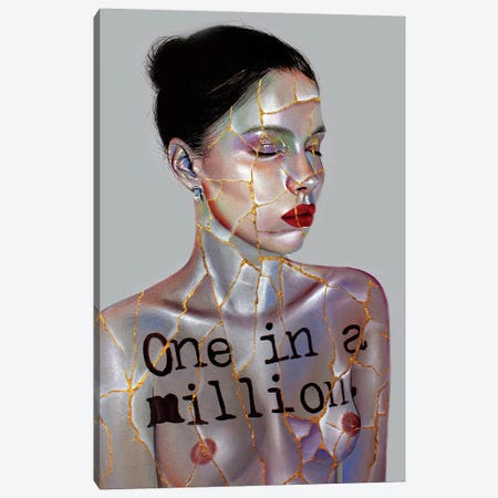 One In A Million Canvas Print #RXP13} by Roxy Peroxyde Canvas Artwork