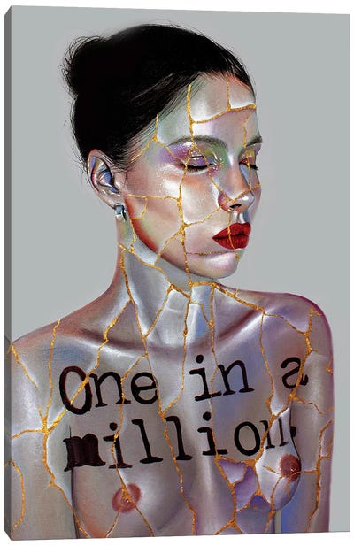 One In A Million Canvas Art Print
