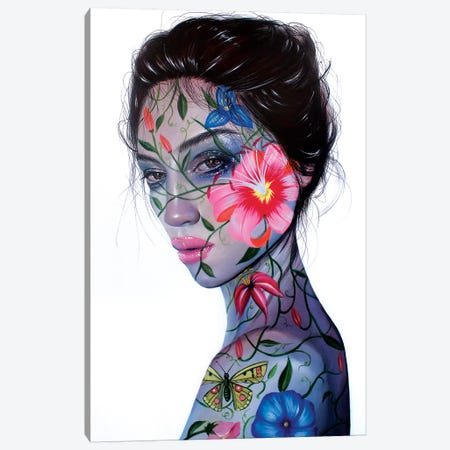 Secret Garden Canvas Print #RXP15} by Roxy Peroxyde Art Print