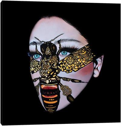 Silenced Queen Canvas Art Print