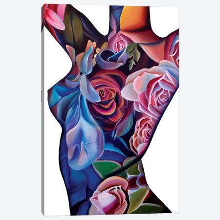 Cultiver Son Jardin  Canvas Print #RXP2} by Roxy Peroxyde Canvas Art