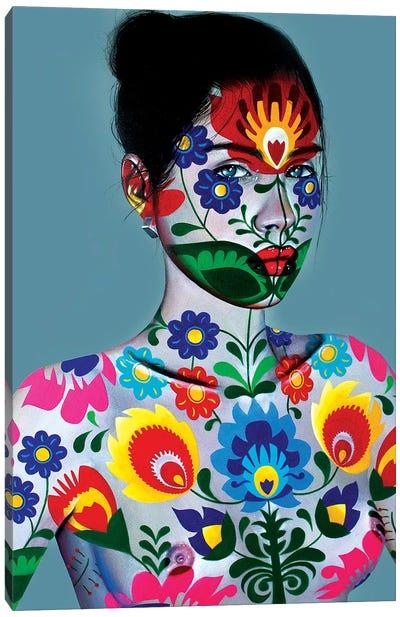 Matrioshka Canvas Art Print