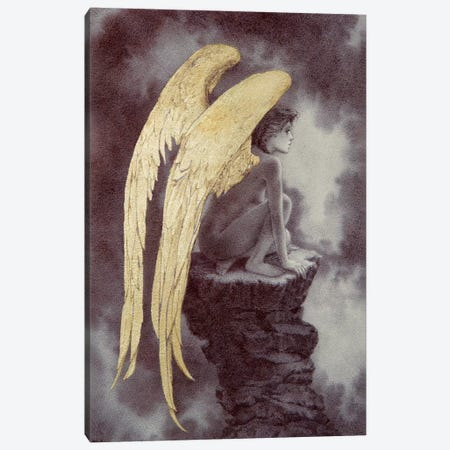 Fallen Canvas Print #RYA11} by Rebecca Yanovskaya Canvas Wall Art