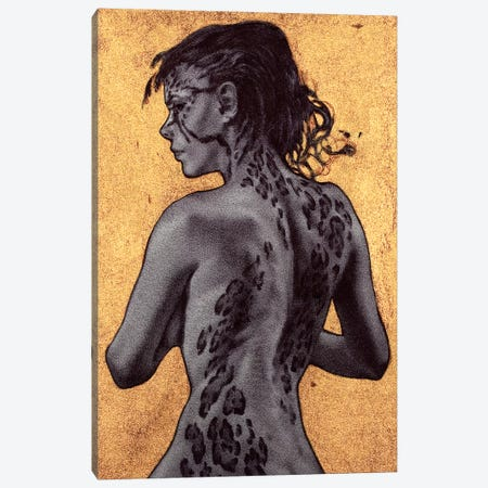 Ferrous II Canvas Print #RYA13} by Rebecca Yanovskaya Canvas Artwork