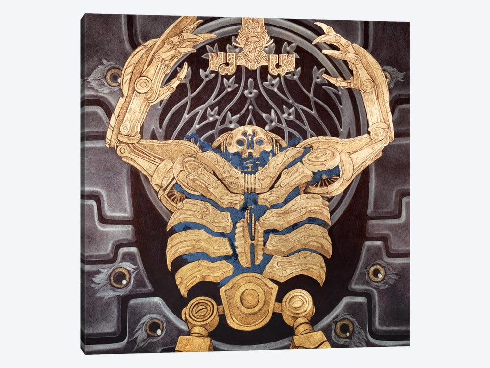 Hellboy 2: Golden Army by Rebecca Yanovskaya 1-piece Canvas Wall Art