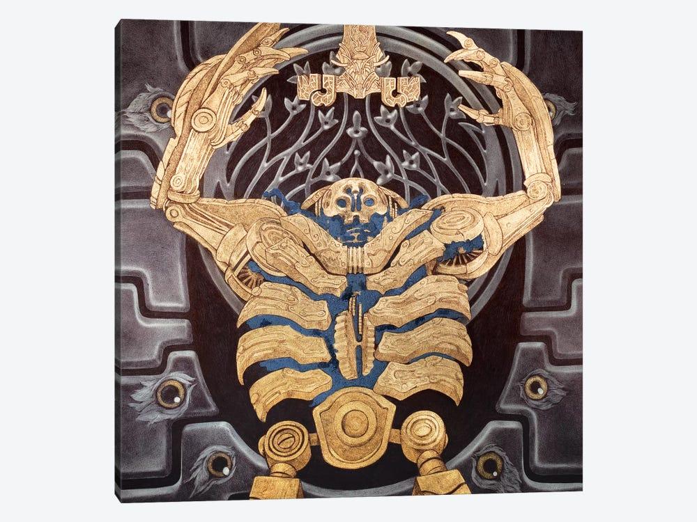 Hellboy 2: Golden Army by Rebecca Yanovskaya 1-piece Canvas Wall Art