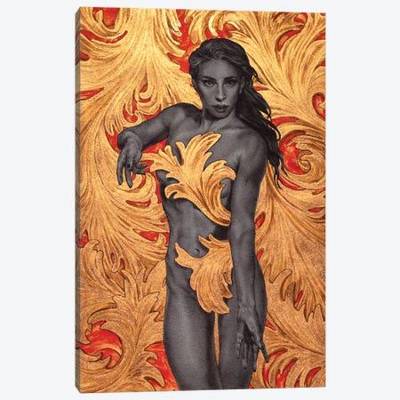 Ornamental II Canvas Print #RYA20} by Rebecca Yanovskaya Canvas Print