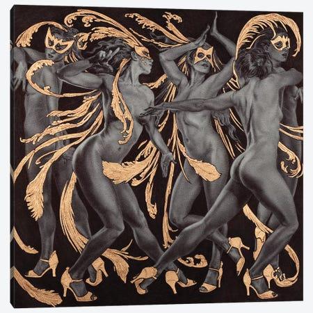 Paso Doble Canvas Print #RYA21} by Rebecca Yanovskaya Canvas Art Print