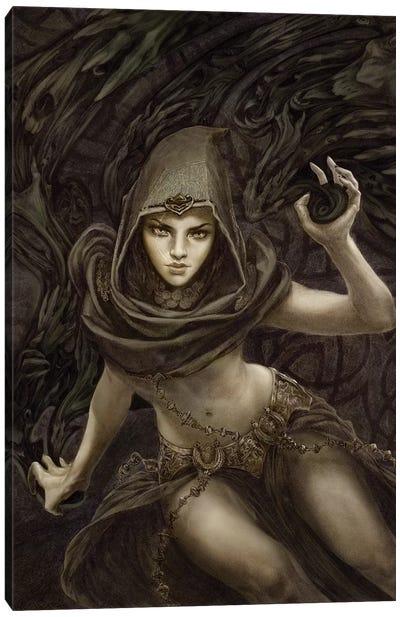 Black Magic Canvas Art Print