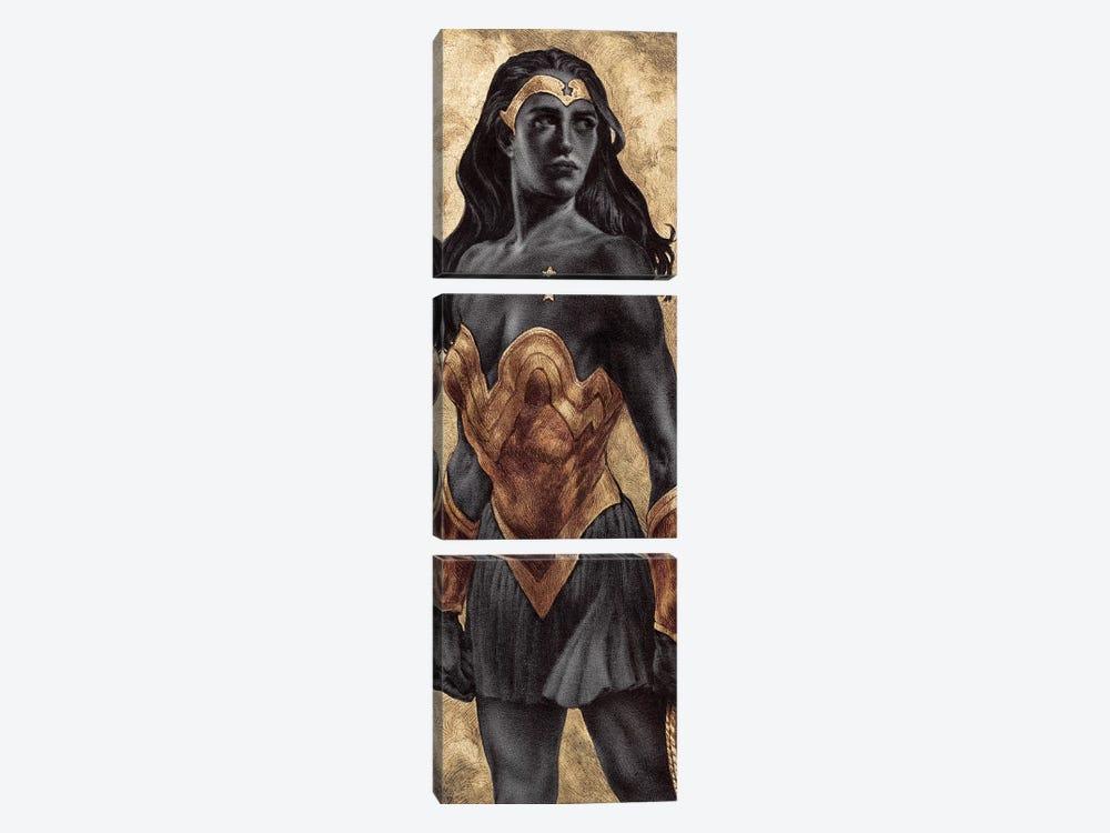 Wonder Woman by Rebecca Yanovskaya 3-piece Canvas Art Print