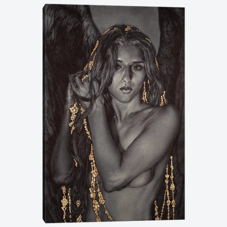 Ceremonial II Canvas Print #RYA4} by Rebecca Yanovskaya Canvas Art