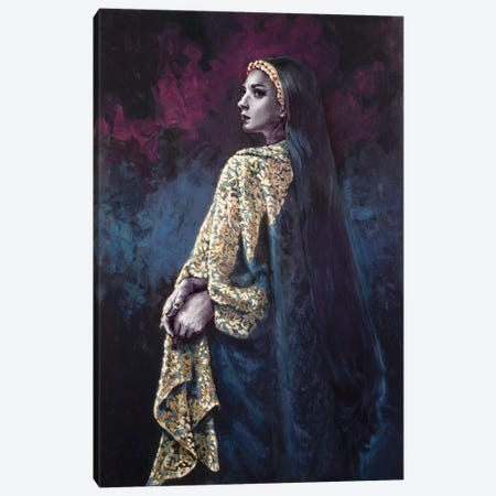 Cloister Canvas Print #RYA5} by Rebecca Yanovskaya Canvas Artwork