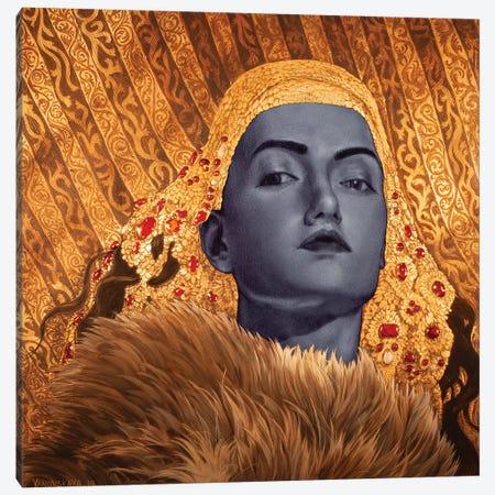 Crownless Canvas Print #RYA6} by Rebecca Yanovskaya Canvas Art