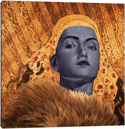 Crownless Canvas Art Print