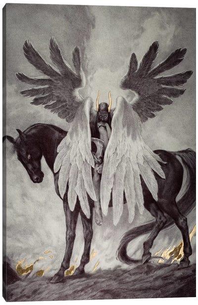 Death Dealer Canvas Art Print