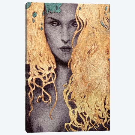 Demon Within Canvas Print #RYA8} by Rebecca Yanovskaya Canvas Print