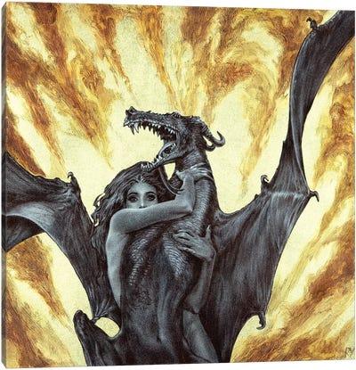 Dragonae Canvas Art Print