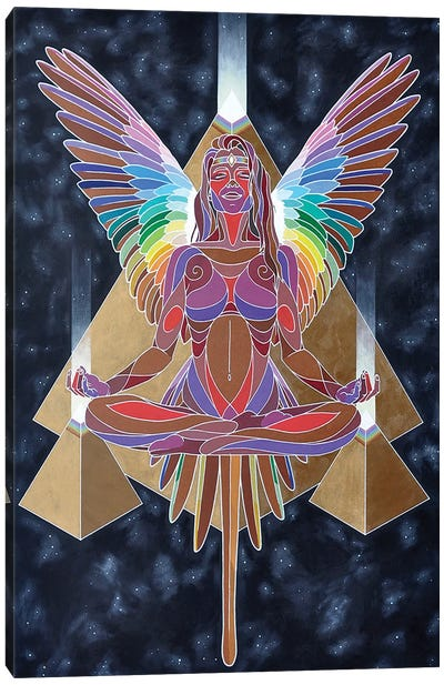 Psychic Activation Canvas Art Print