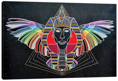Ancient Future Vision Canvas Art Print