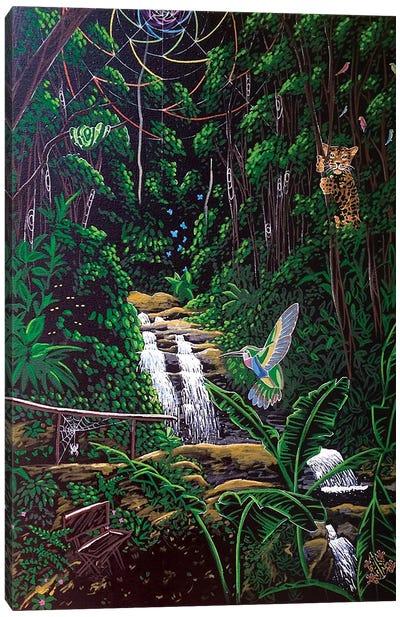 Emerald Garden Canvas Art Print