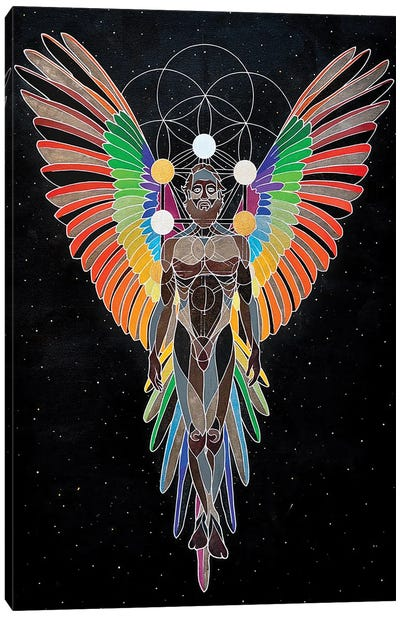 Long Strange Tryptamine Canvas Art Print