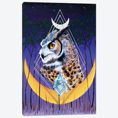 Age Of The Owl Canvas Print #RYB2} by Ryan Blume Canvas Wall Art