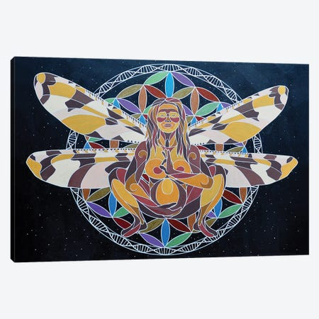 Mamalasana Canvas Print #RYB30} by Ryan Blume Canvas Art Print